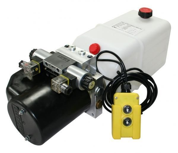 Flowfit 24v Dc Double Acting Hydraulic Power Pack 5 L Min With 8l Zz004237 Ebay Hydraulic Power Pack Acting