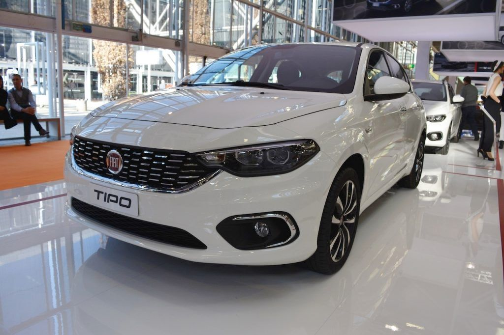 Fiat Tipo Hatchback Tipo Estate Bologna Motor Show Live With