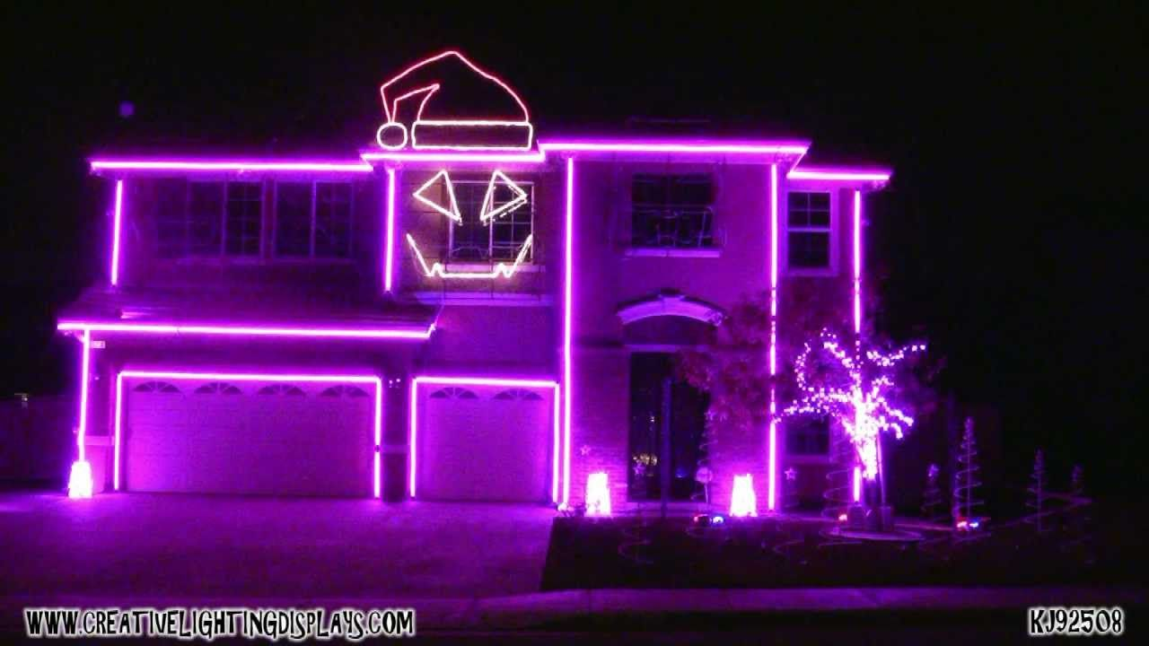 Beautiful Christmas Light Show 2011   Sexy And I Know It