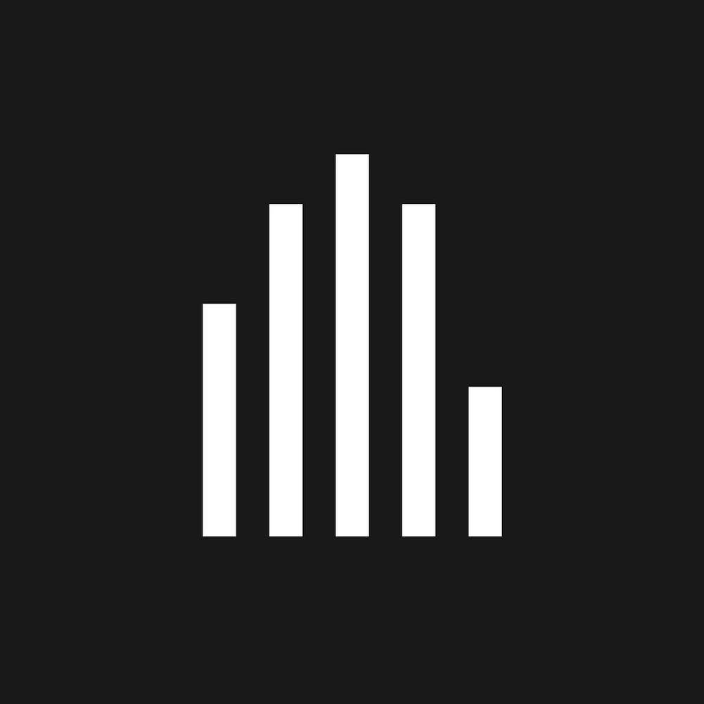 hifive audio app logo based around a