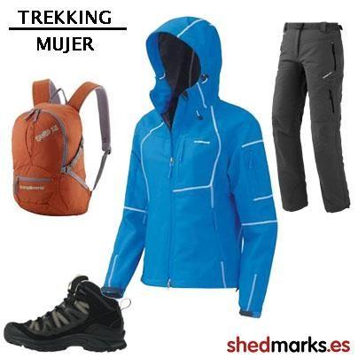 33f27be807df4 Soft Shell trekking Trango World Mabha Mujer - Pantalones trekking Trango  World Myan Mujer -