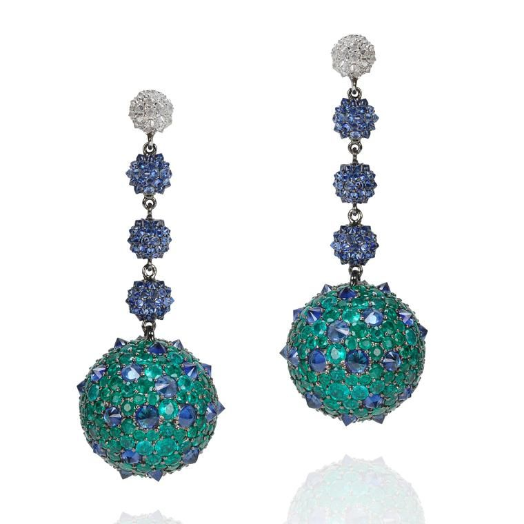 Reverse-set gemstones: the spiky edge of style | The Jewellery Editor