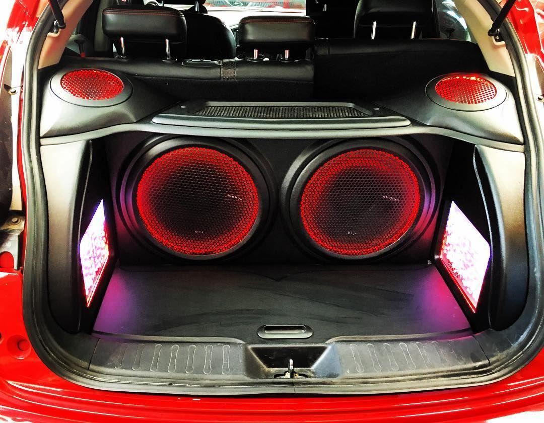 Done Nissan Juke With Rockford Fosgate Subwoofer Flux Pioneer Car Audio Amplifiers Caraudio Audiomobiljakartabarat Megaaudio