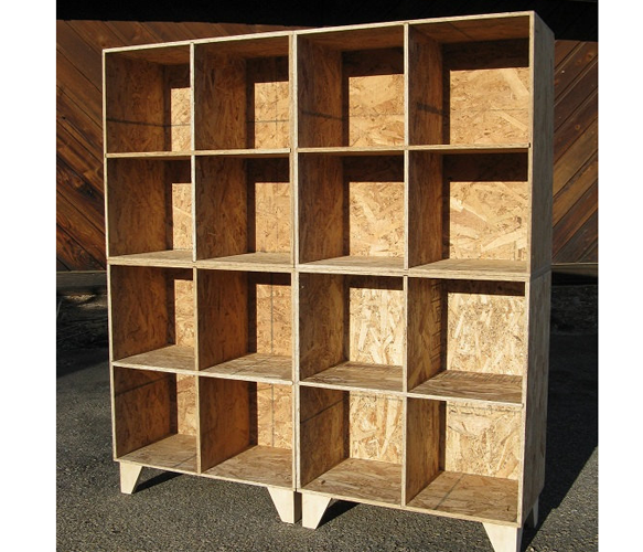 Bookshelf cubby storage perfect for office room dividers for Room divider storage