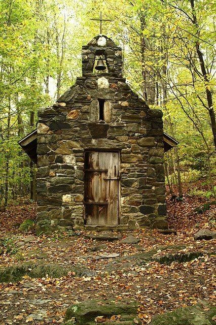 An amazing Forest Chapel in Stowe, Vermont | All of New England ALLofNE - Discover