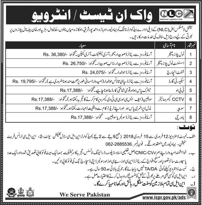 National Logistics Cell Nlc Jobs  For Managers HttpsWww