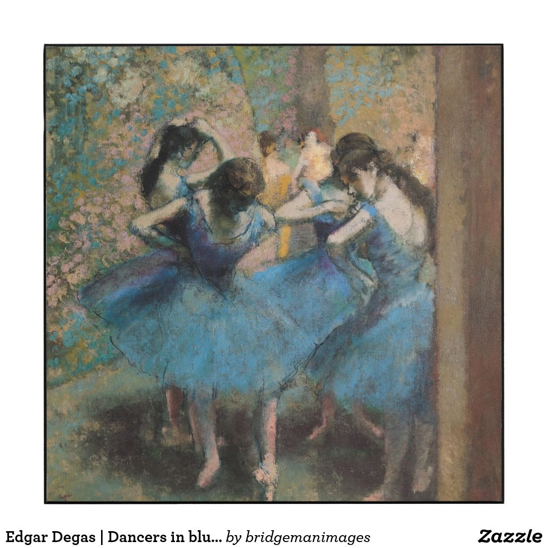 Edgar degas dancers in blue wood arts pinterest degas