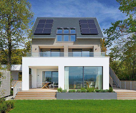 Entwurf Haus am See von Baufritz (mit Bildern