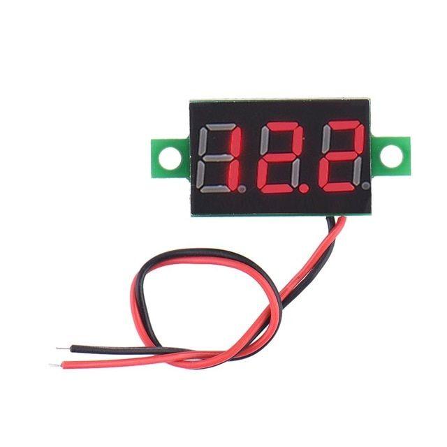 High Quality LED Digital Voltage Voltmeter DC 4.5-30V 2 Wire ... on
