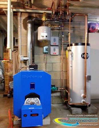 Total Comfort Mechanical Inc Google Boiler Installation