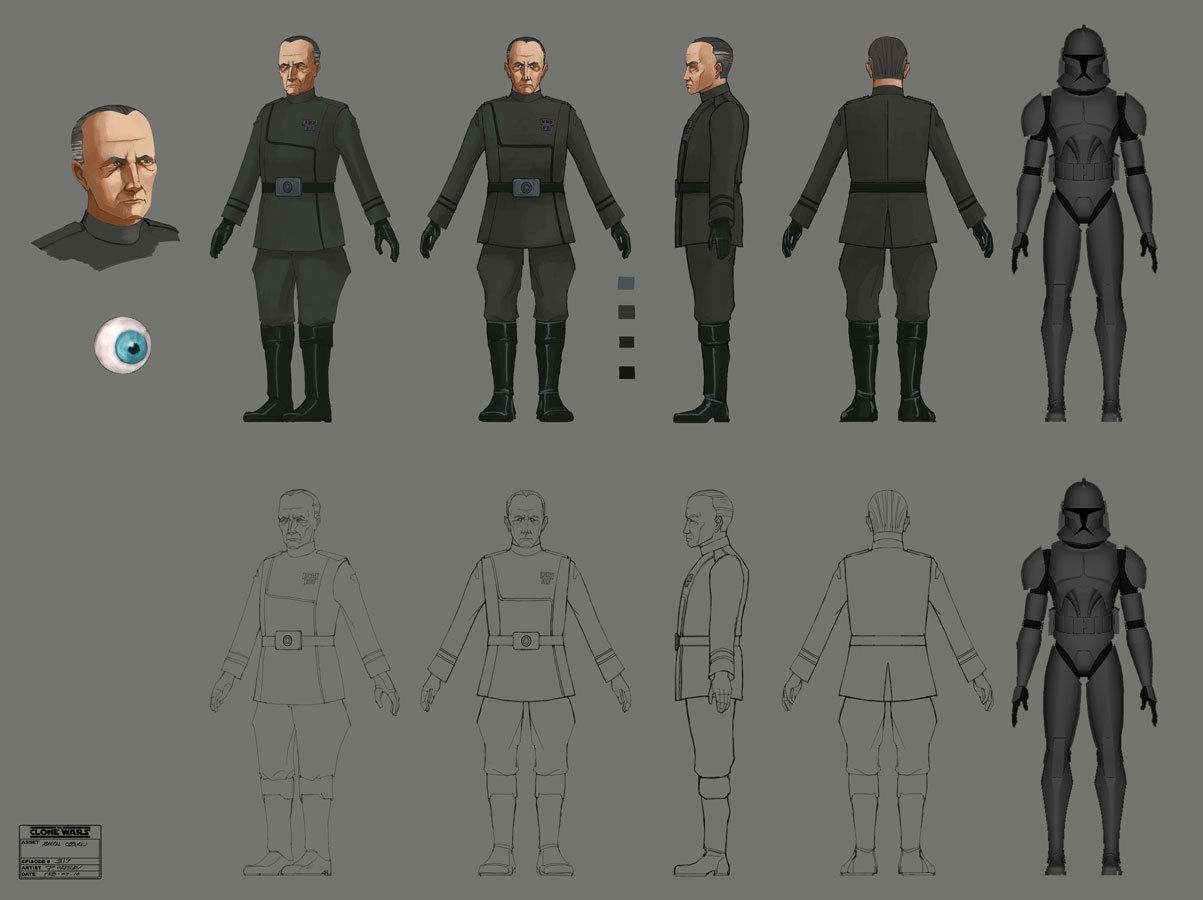 Citadel Rescue Concept Art Empire Order Star Wars