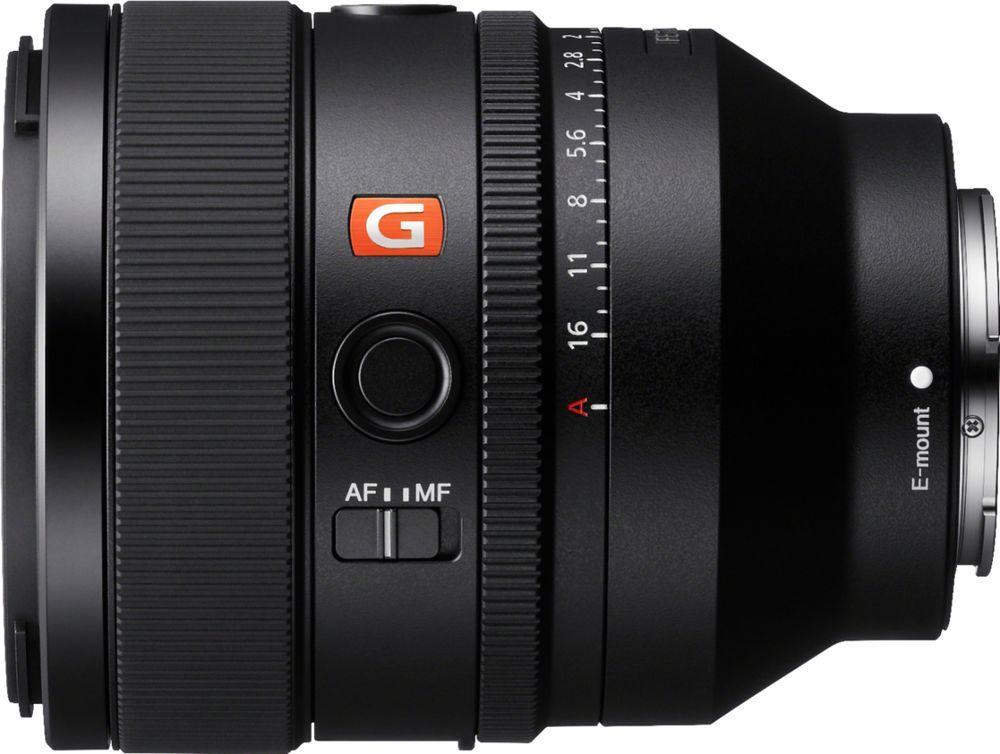 Fe 50mm F1 2 Full Frame Gm Lens For Sony Alpha E Mount Cameras Black Sel50f12gm Best Buy In 2021 E Mount Sony Camera Cool Things To Buy