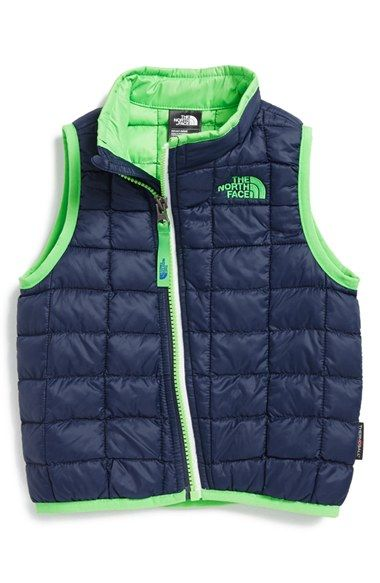 7520da251202 The North Face  ThermoBall™  PrimaLoft® Vest (Baby Boys)