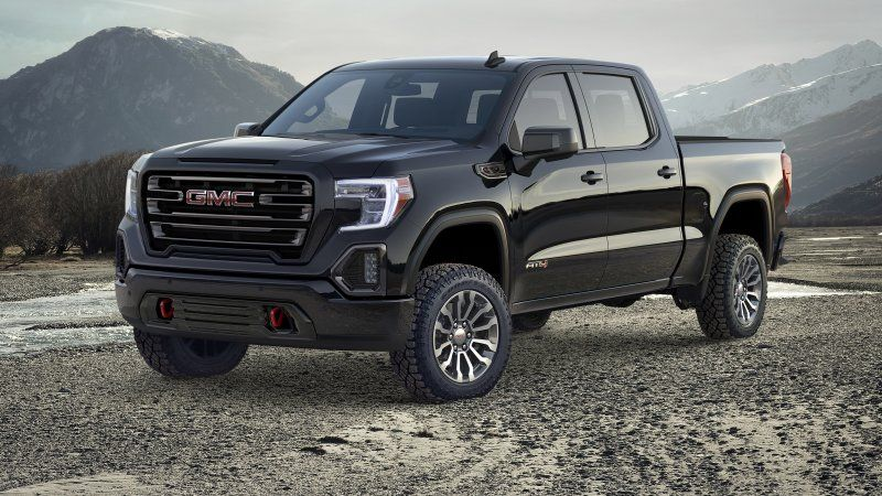 2019 Gmc Sierra At4 Off Road Package Revealed In New York City