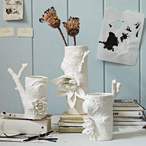 Ceramic Matters Branch Vases
