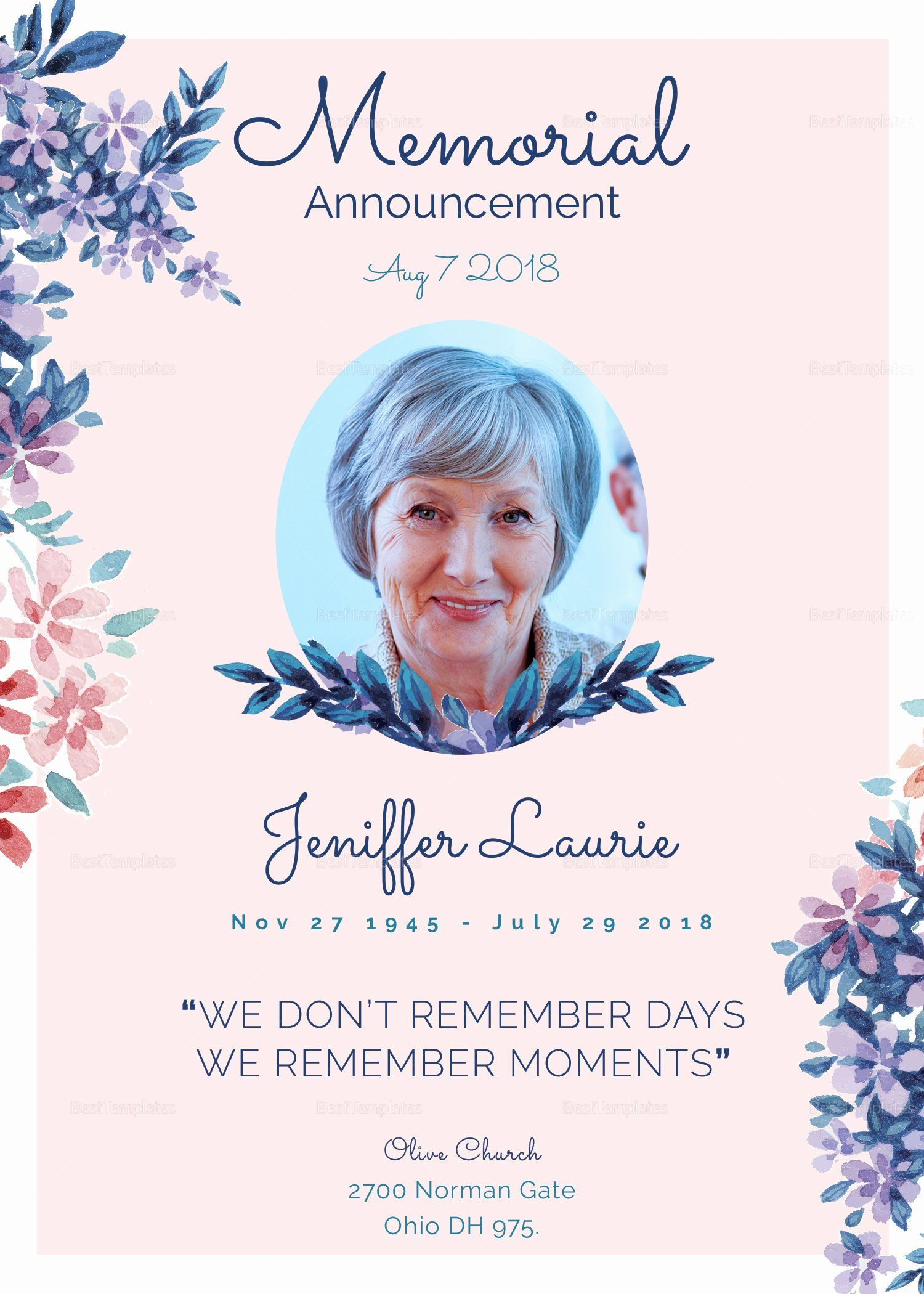 Funeral Invitation Template Free Best Of Vintage Funeral Invitation Design Template In Wor Funeral Invitation Funeral Templates Free Memorial Cards For Funeral