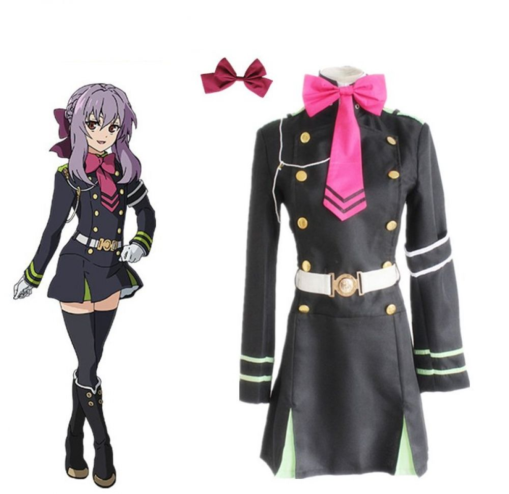NEW Anime Seraph of the End Owari no Seraph Uniforms Cosplay Free ship