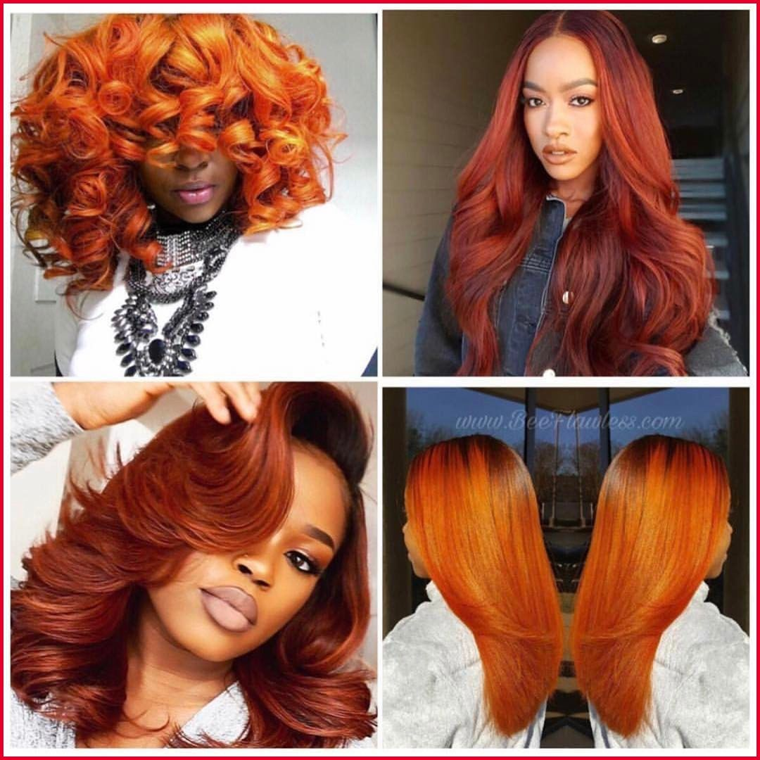Elegant Burnt Orange Color Hair Pics Of Hair Color Style Adorehaircolorburntorange Burntorangecolo Hair Color For Black Hair Hair Styles Natural Hair Styles