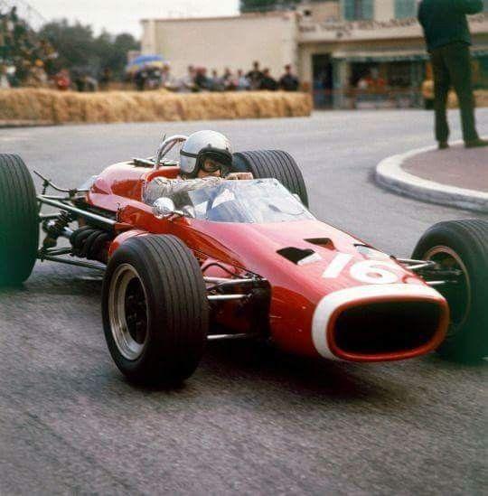 1967 monaco grand prix : bruce mclaren, mclaren-brm m4b #16, bruce