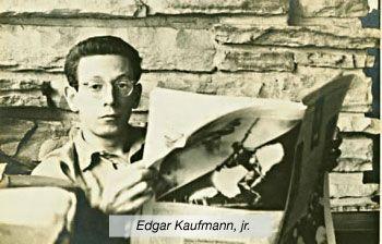 Edgar Kaufman, Jr. friend of Charles and Ray Eames TimeRime.com - THAT'S DESIGN - KEY MESSAGE Linea de tiempo