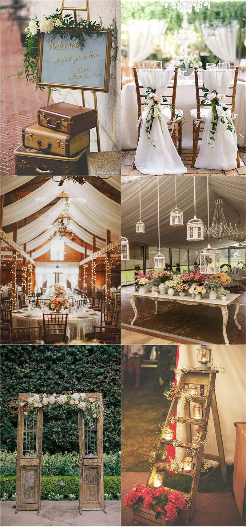 Photo of Shabby Chic Vintage Wedding Ideas You Can't Say No To!