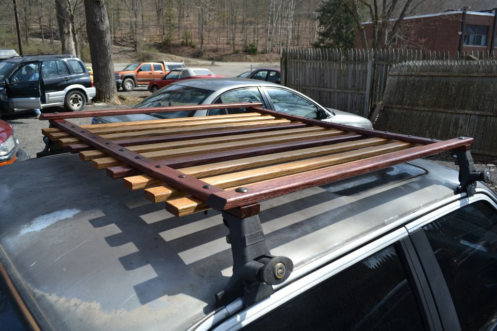 F34r S Wooden Roof Rack Finished Installed R3vlimited