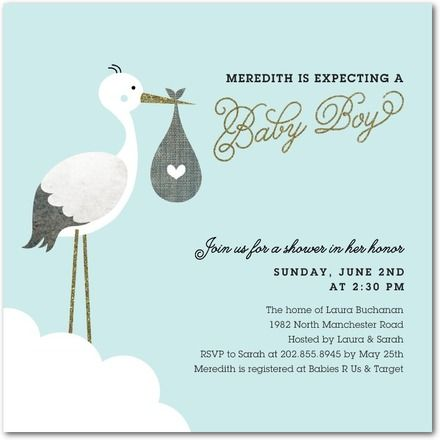 Baby Shower Invitation - Stacey Day for Tiny Prints