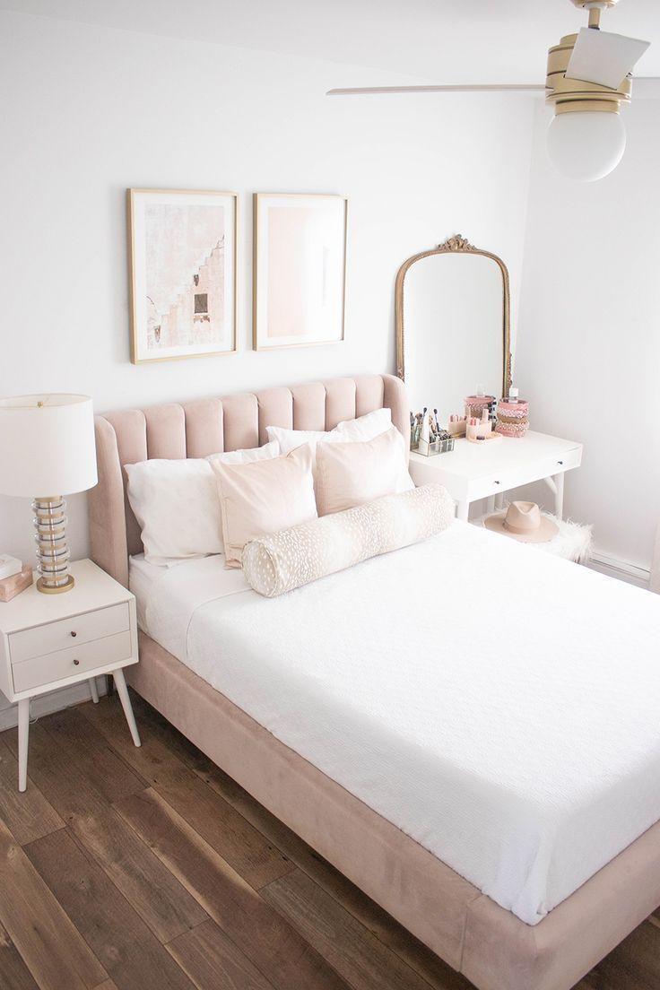 Photo of Erröten und Gold Schlafzimmer – Geld kann Lippenstift kaufen