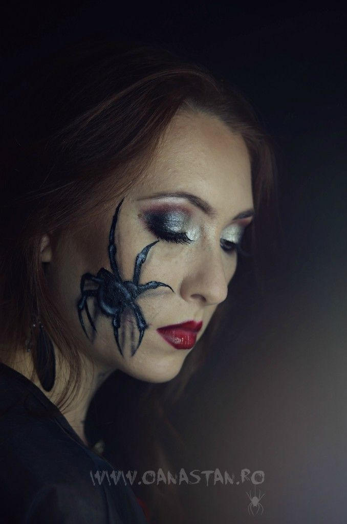 OANA STAN | Halloween make-up: Misterul Vaduvei negre | http://