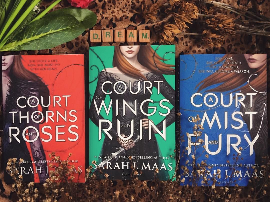 Bookstagram Acotar Series Court Of Thorns And Roses A Court