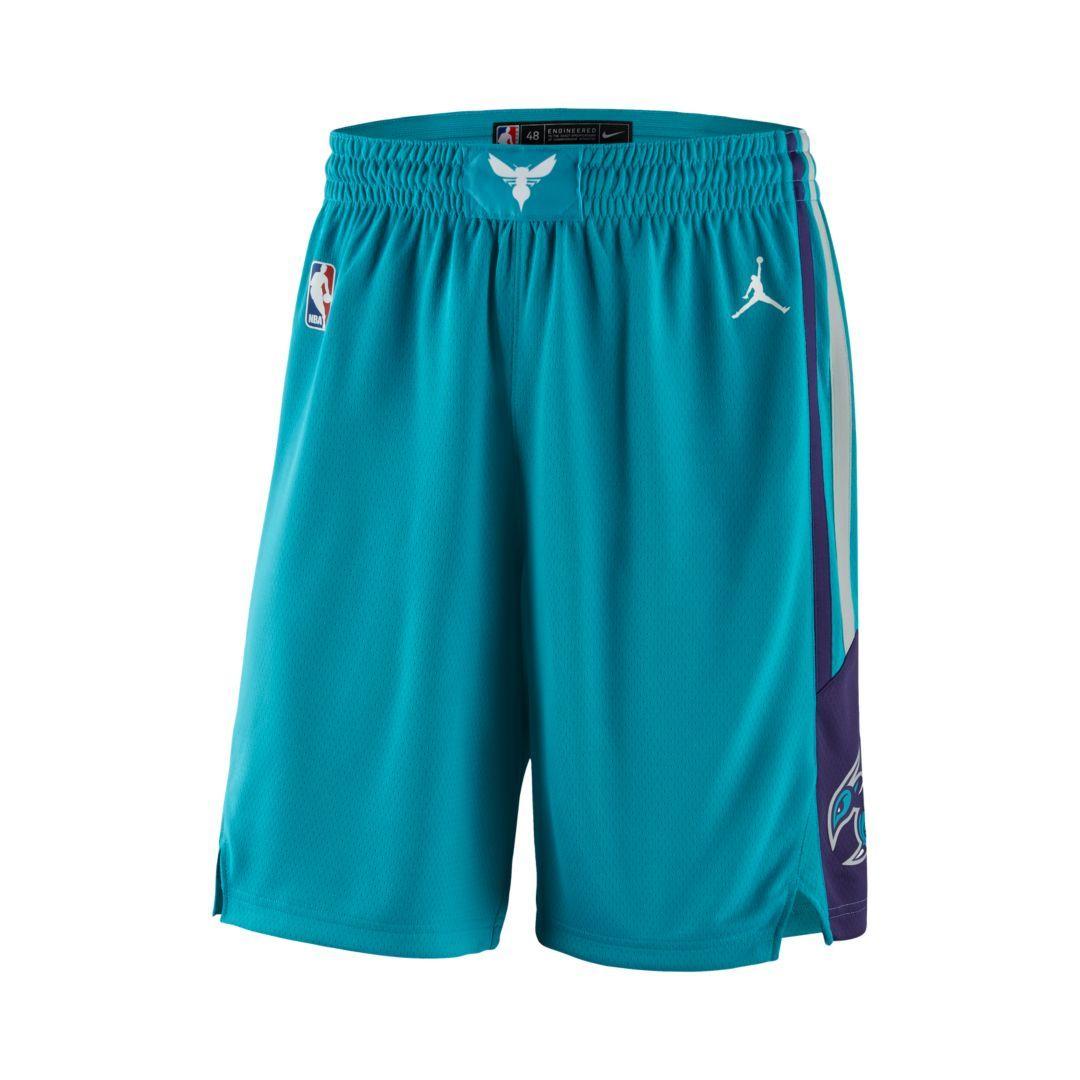 3bd3c1dc52d Charlotte Hornets Icon Edition Swingman Men s Jordan NBA Shorts Size S  (Rapid Teal)