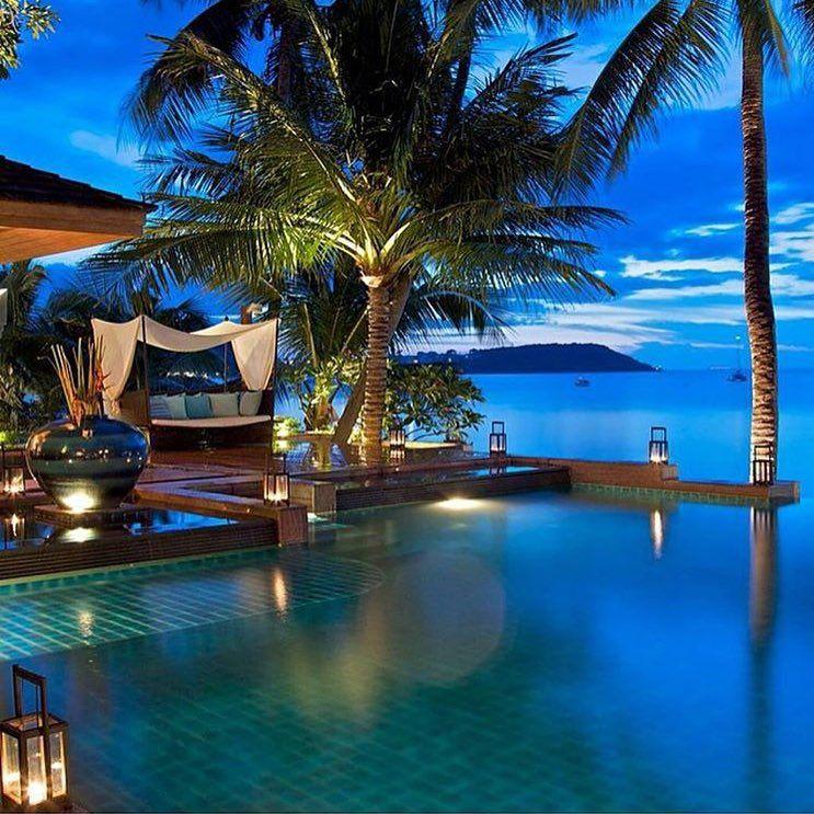 F A S H I O N A I R YさんはInstagramを利用しています:「@Upniduniya five star luxury villa resort in Koh Sumui Thailand courtesy of our friend @luxuryworldtraveler」
