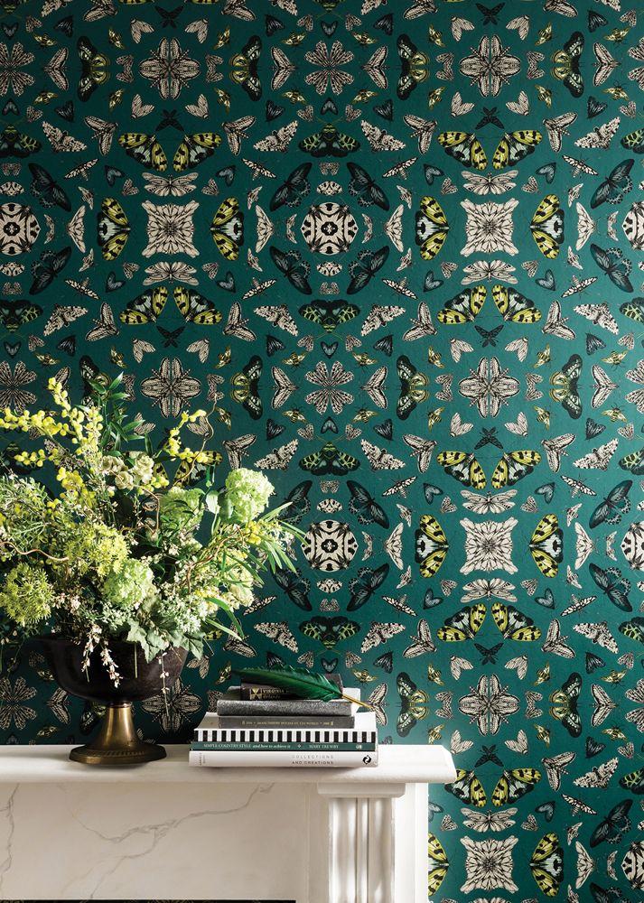 Glitter Bug Emerald Funky wallpaper, Home art, Wallpaper