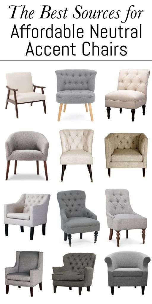 The Best Sources For Affordable Neutral Accent Chairs Accent