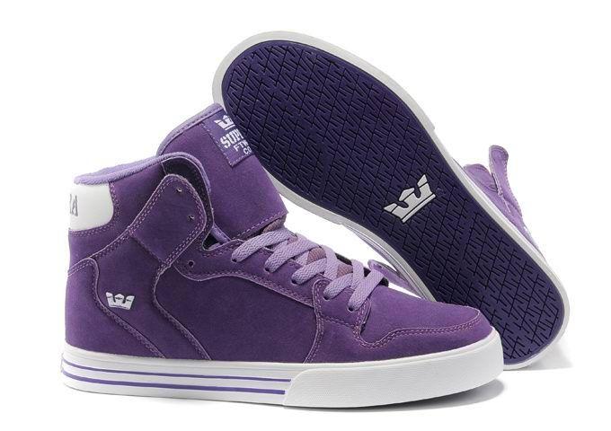 Vaider Mens Sneakers Purple Suede White Shoe The Supra.jpg (680×480)