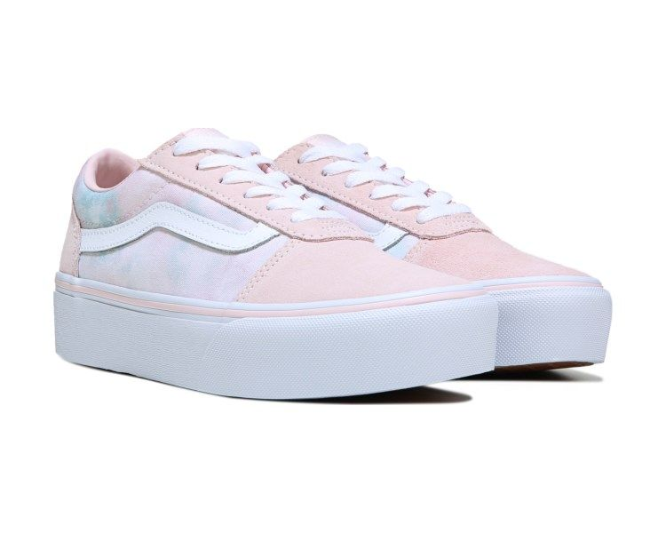 a5998bc4a53ec9 Vans Ward Platform Sneaker Pinkcloud. Omg. LOVE these❣️