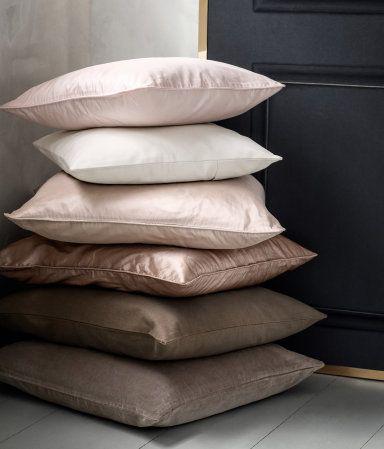 Velvet Cushion Covers H Amp M Us Dwell Pink Cushions