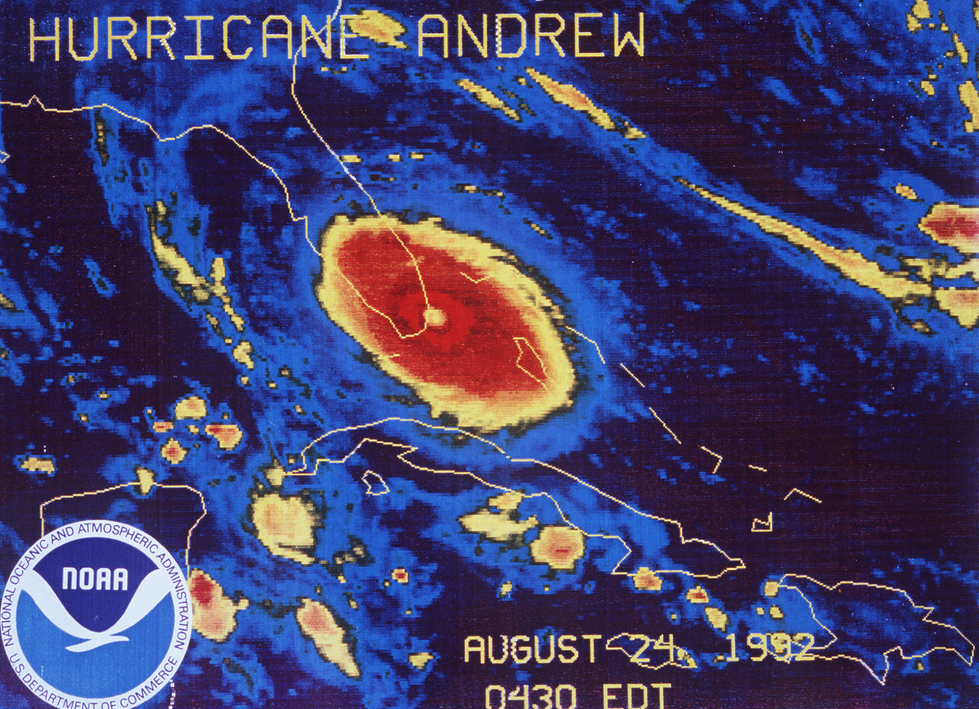 Hurricane Irma Likely To Be Far Worse Than Monster Andrew With Images Hurricane Andrew Hurricane Monster