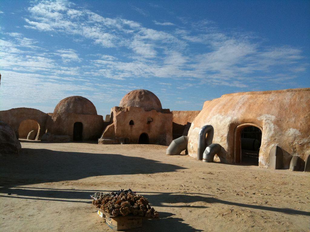 Matmata, Tunisia. The real-life set of Star Wars' Tatooine