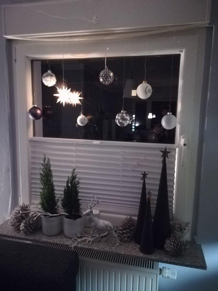 Weihnachten Fensterdekoherbst Weihnachten Dekoration Wohnung