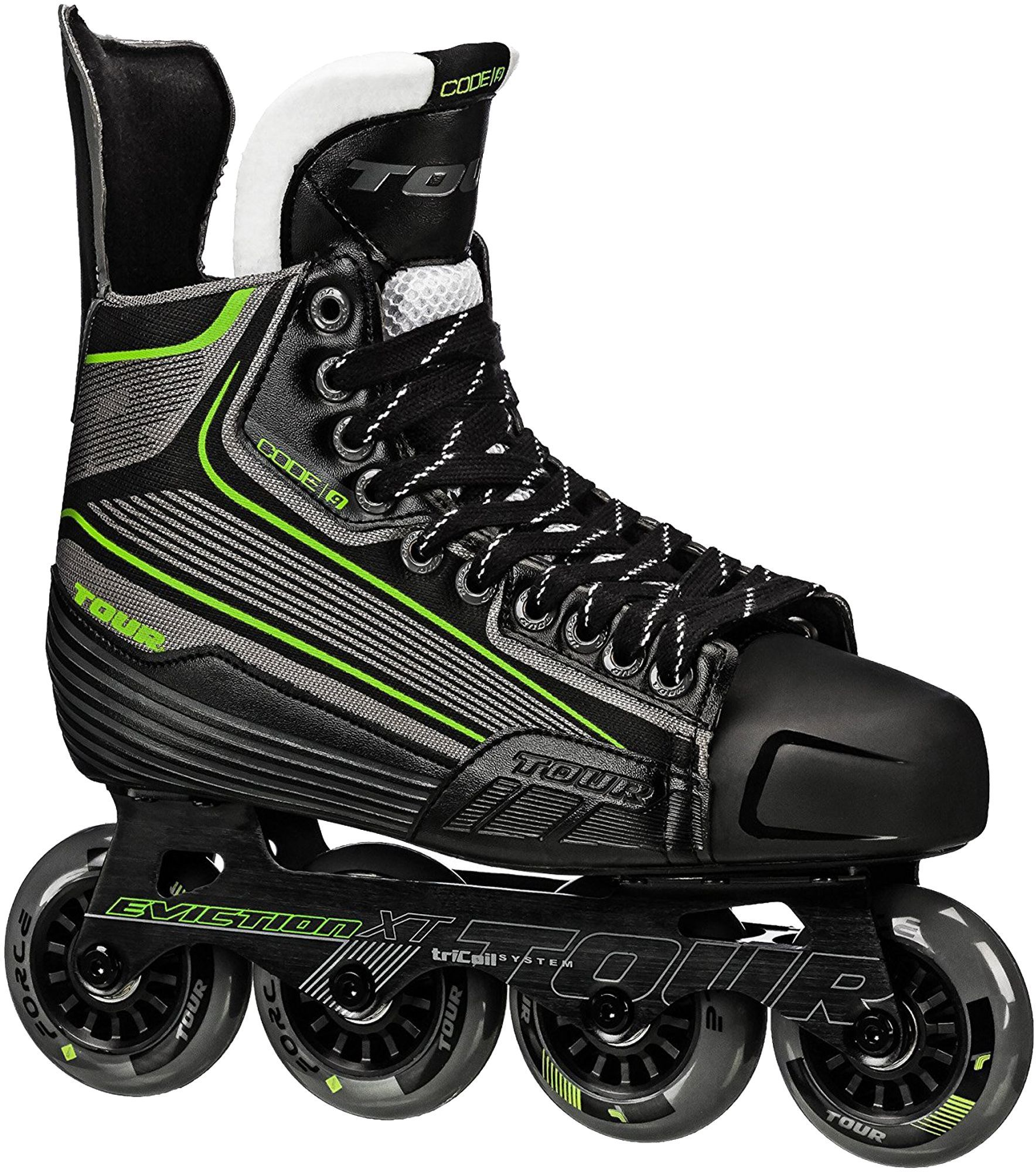 Tour Senior Code 9 Roller Hockey Skates In 2020 Roller Hockey Skates Inline Hockey Inline Skating