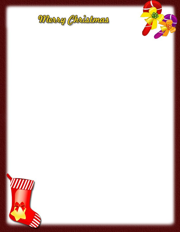 Download our Christmas Letterhead Template for free or browse our