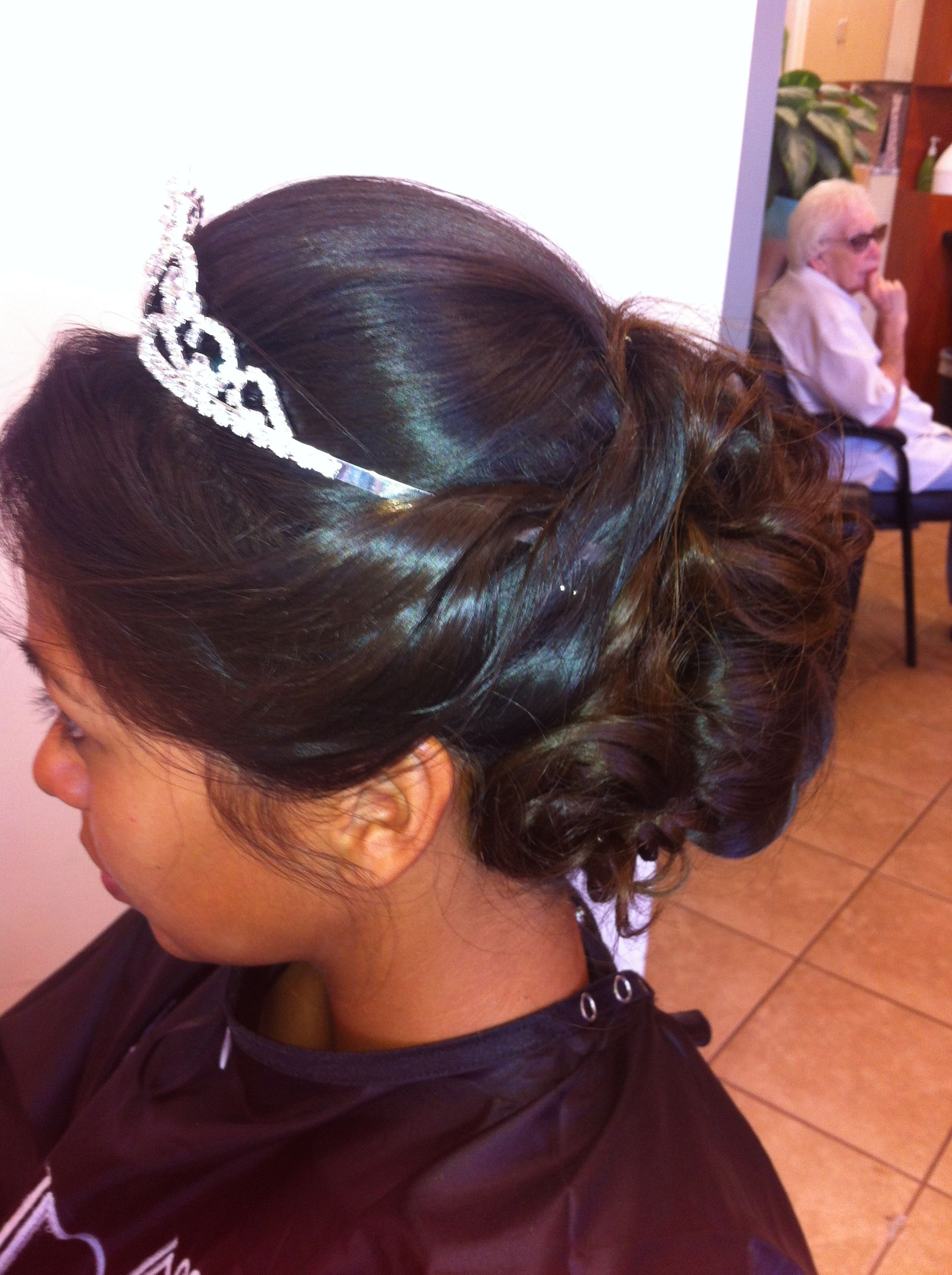 Beautiful Sweet 16 Updo Done By Kristi P Hairstyles Pinterest