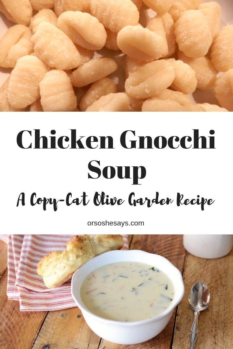 Huhn Gnocchi Suppe ~ Olive Garden Knock-Off