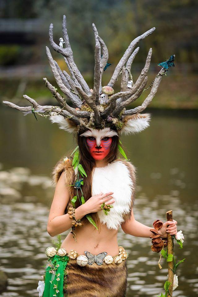 Forest Spirit Shishigami Deer God From Princess Mononoke Spirit
