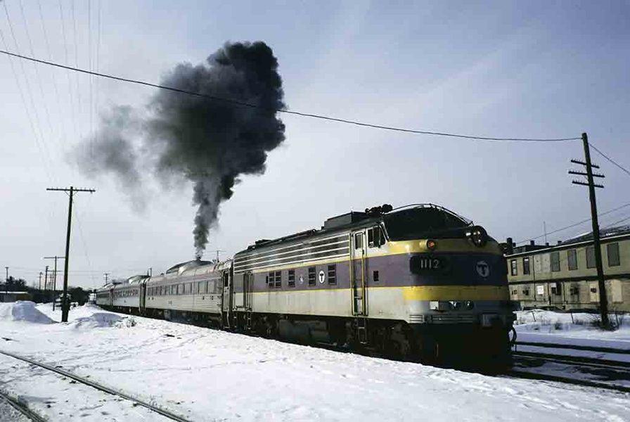 Thirty-three years of railroad Christmas cards - TRAINS Magazine ...