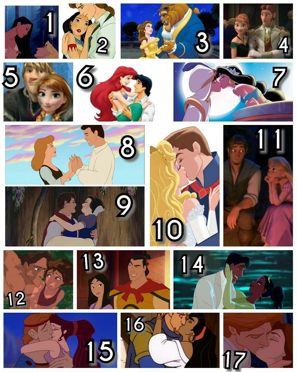 What is your favourite disney couple