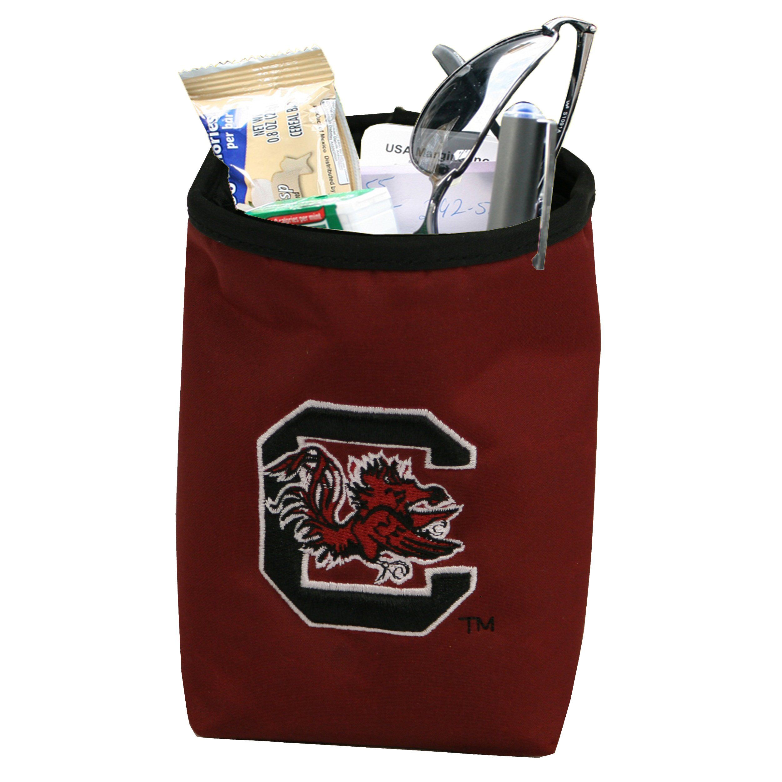 NCAA Car Vent Pocket Organizer with Embroidered Logo Fits