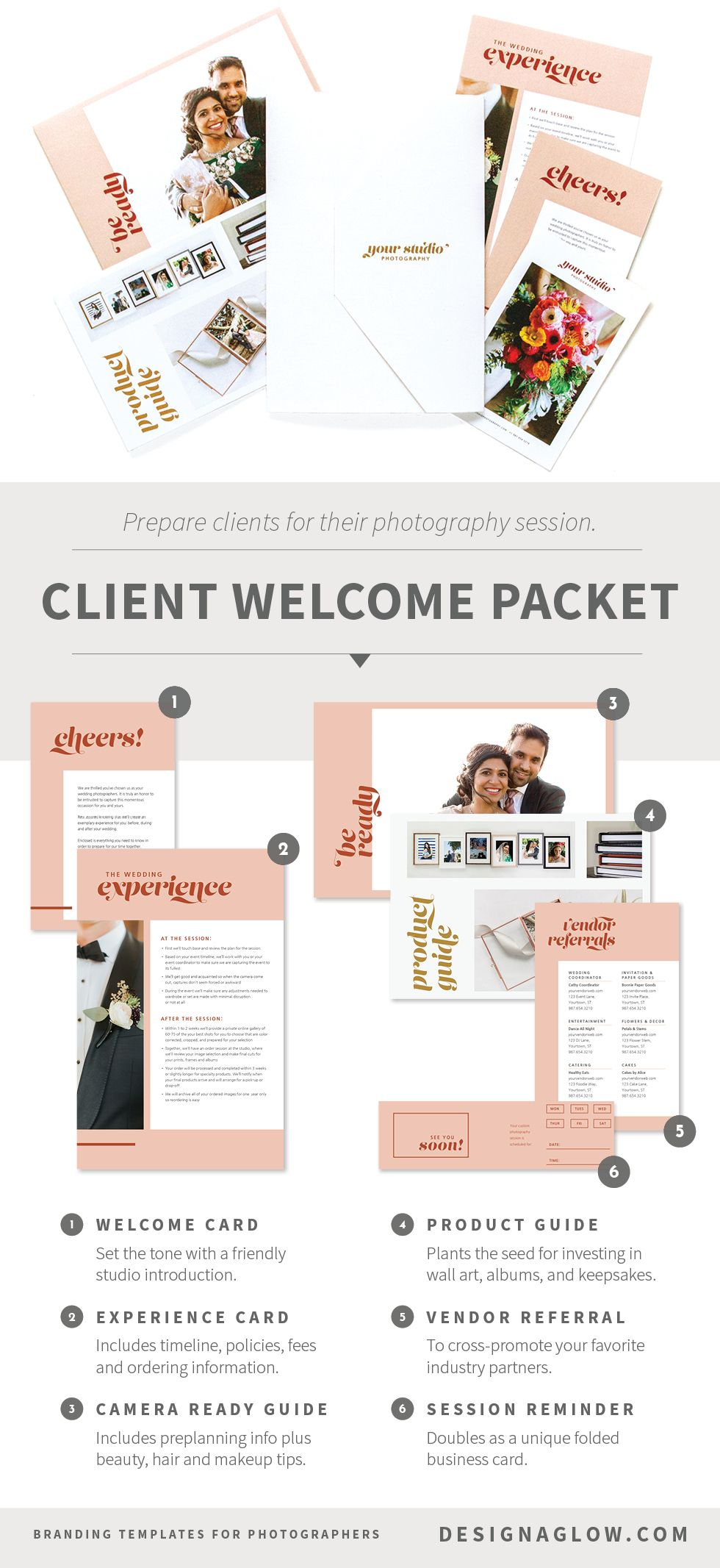 The Anatomy Of A Client Welcome Packet Welcome Packet Photography Welcome Packet Photography Branding
