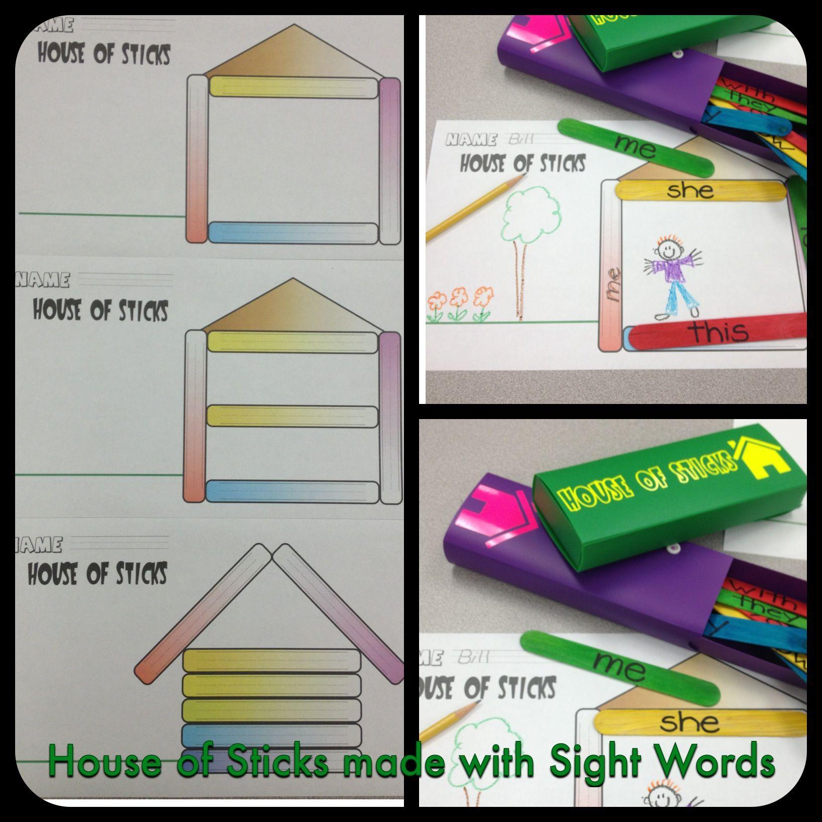 Using Sight Word Gt Sticks